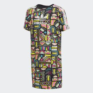Платье-футболка Multicolor / White ED7863