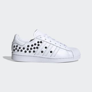 Chaussure Superstar. Cloud White / Core Black / Scarlet FV3344