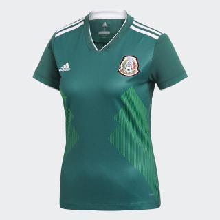 Jersey Titular Performance Selección Nacional de México Collegiate Green / White CW5292