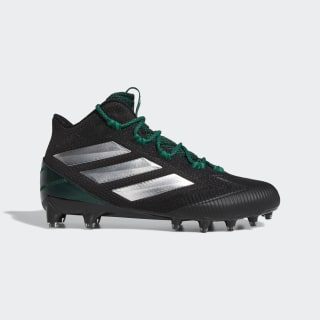 Freak Carbon Mid Cleats Core Black / Cloud White / Dark Green EE7138
