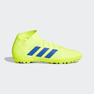 Calzado de Fútbol Nemeziz Tango 18.3 Pasto Sintético Solar Yellow / Football Blue / Active Red BB9465
