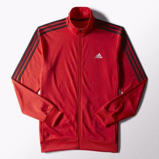Essentials Track Jacket Scarlet / Black S90421
