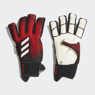 Guantes de portero Predator 20 Ultimate Black / Active Red FH7290