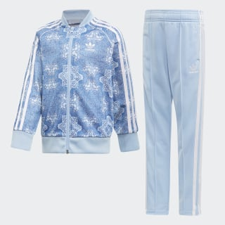 Culture Clash SST Track Suit Multicolor / Clear Sky / White DV2339