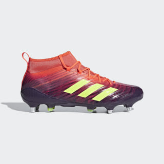Predator Flare Soft Ground Boots Legend Purple / Hi-Res Yellow / True Orange BB7965