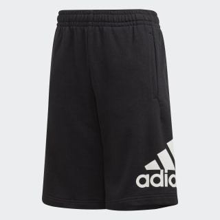 Must Haves Badge of Sport Shorts Black / White FM6456