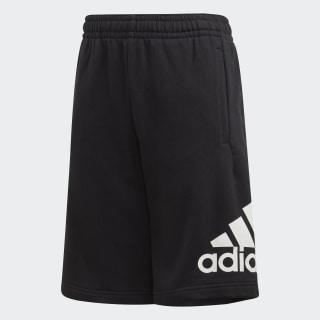 Pantalón corto Must Haves Badge of Sport Black / White FM6456