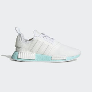 Sapatos NMD_R1 Cloud White / Cloud White / Clear Aqua EF4273