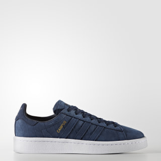 Tenis Campus Embossed COLLEGIATE NAVY/COLLEGIATE NAVY/FTWR WHITE BZ0277