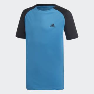 Футболка для тенниса Club shock cyan / black DU2479