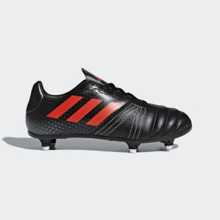 All Blacks SG Junior Boots Core Black/Hi-Res Red/Night Metallic CM7445