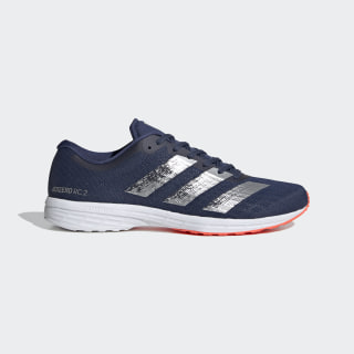 Кроссовки для бега Adizero RC 2.0 tech indigo / silver met. / dash grey EG1187
