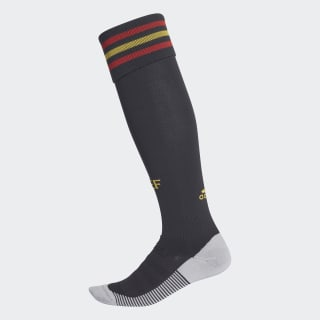 Spain Home Socks 1 Pair Black / Bold Gold / Red BR2827
