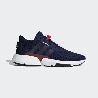 POD-S3.1 Shoes Dark Blue / Dark Blue / Red G26512