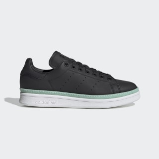 Stan Smith New Bold Shoes Core Black / Clear Mint / Cloud White BD8067