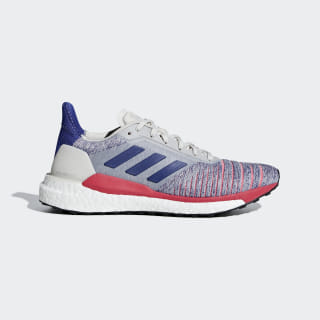 Solar Glide Shoes Raw White / Active Blue / Shock Red B96288