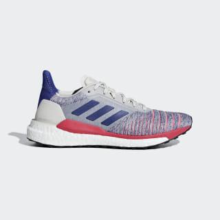 Zapatillas Solar Glide Raw White / Active Blue / Shock Red B96288