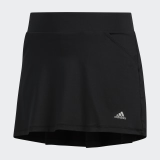 Solid Pleat Skort Black DQ2111