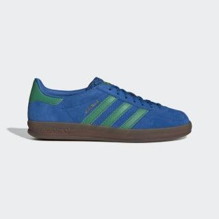 Chaussure Gazelle Indoor Lush Blue / Bold Green / Gum5 EE5735