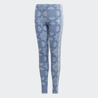 Culture Clash Leggings Blue / White DV2368
