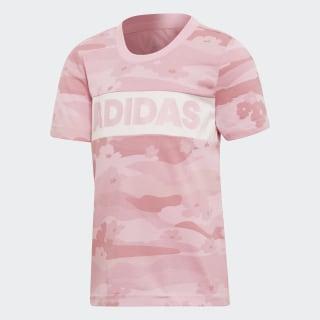 Camiseta Lg Summer Shirt True Pink / White DW4072
