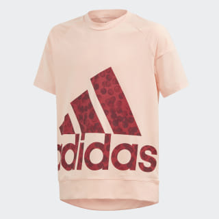 Statement Tee Glow Pink / Active Maroon / Collegiate Burgundy ED6309