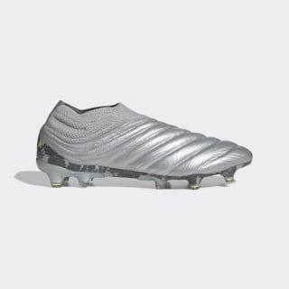 Botines Copa 20+ Terreno Firme Silver Metallic / Silver Metallic / Solar Yellow EF8309