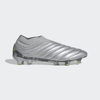 Chaussure Copa 20+ Terrain souple Silver Metallic / Silver Metallic / Solar Yellow EF8309
