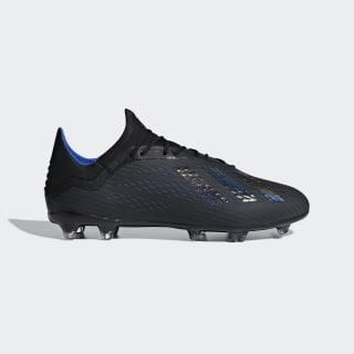 X 18.2 FG Fußballschuh Core Black / Core Black / Bold Blue D98181