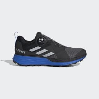 TERREX Two Boa Trailrunning-Schuh Grey Four / Grey Two / Glory Blue EF2135