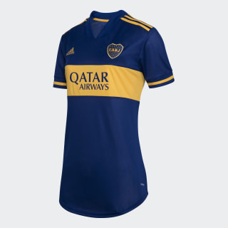 Camiseta Titular Boca Juniors Mujer  Mystery Ink / Bold Gold GL4173