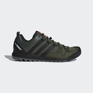 TERREX Solo Shoes Real Teal / Core Black / Energy Green CM7658