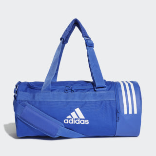 Convertible 3-Stripes Duffel Bag Small Bold Blue / White / White DT8646