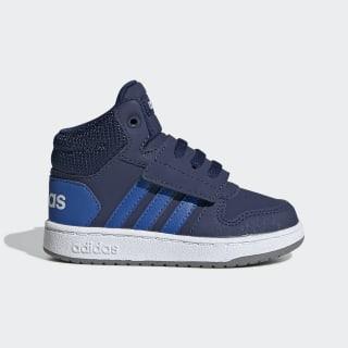 Chaussure Hoops 2.0 Mid Dark Blue / Blue / Cloud White EE6714