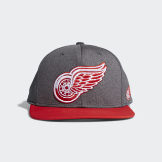 Red Wings Snapback Heathered Grey Hat Multi CY0487
