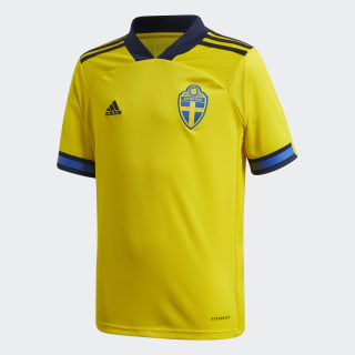 Camiseta primera equipación Suecia Yellow / Night Indigo FH7613