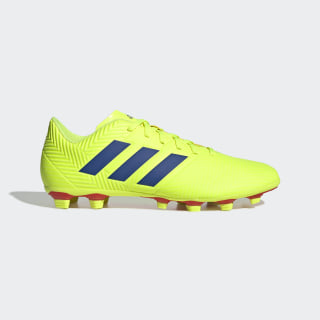 Zapatos de Fútbol Nemeziz 18.4 Multiterreno Solar Yellow / Football Blue / Multi BB9440