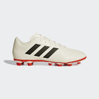 Calzado de Fútbol NEMEZIZ 18.4 FxG off white/core black/active red D97992