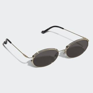 AOM015 Sunglasses Gold Metallic CM1301