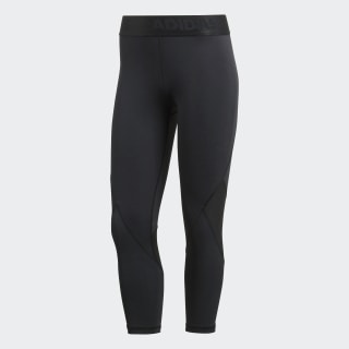 Alphaskin Sport 3/4 Tights Black CF6556