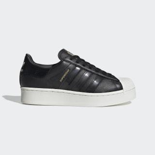 Superstar Bold Schuh Core Black / Off White / Gold Metallic FV3354