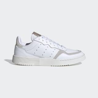 Supercourt Shoes Cloud White / Cloud White / Platinum Metallic EF5927