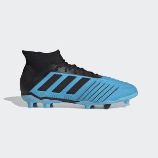Predator 19.1 Firm Ground Boots Bright Cyan / Core Black / Solar Yellow G25792