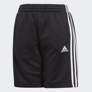 Essentials 3-Stripes Shorts Black BQ2824
