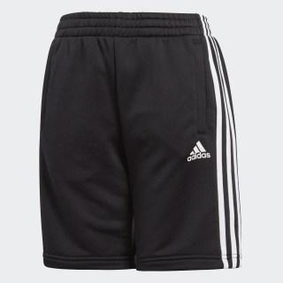 Pantalón corto Essentials 3 bandas Black BQ2824
