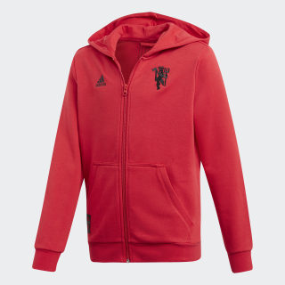 Manchester United Hoodie Real Red DW4715