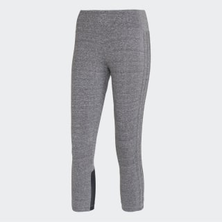 Calça Legging 3/4 3-Stripes CINDER/CINDER/BLACK CV3797