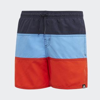 Shorts de Baño Colorblock legend ink/glow blue DY6421