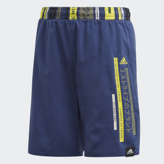 Colorblock Zwemshort Tech Indigo FL8716