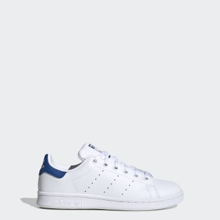 Stan Smith Shoes Cloud White / Cloud White / Eqt Blue S74778